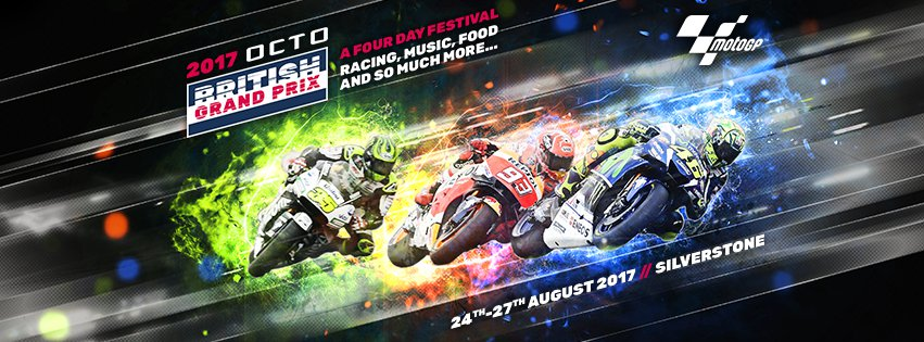British motorcycle Grand Prix 2019